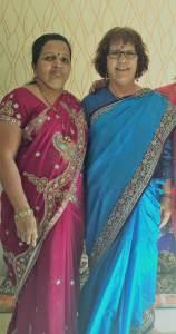 Course de sari à Aurangabad