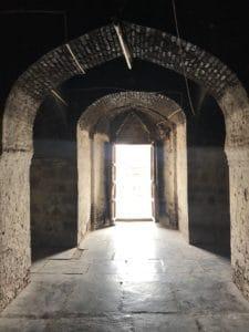 Inside Lonar temple