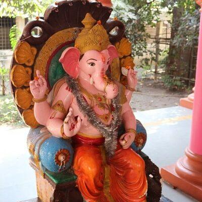 Ganesh le dieu hindou, temple hindou