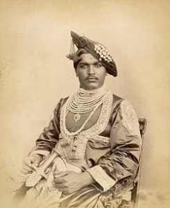 Shahu, Kolhapur, king, roi
