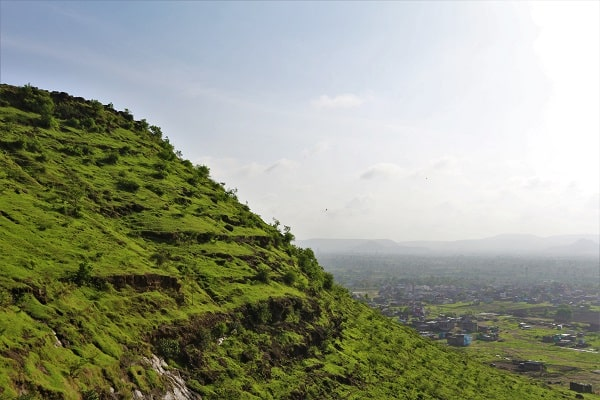 mountain in Aurangabad, montagne à Aurangabad