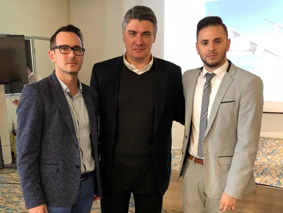 Adriano Friganović, Zoran Milanović, Boris Ilić (FOTO: ZVU)