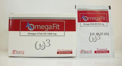 أوميجا فيت أكياس مكمل غذائى Omega Fit Sachets الأجزخانة