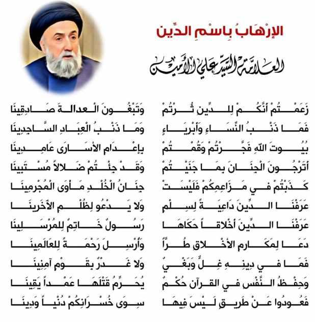 الالاهاب باسم الدين - السيد علي الأمين