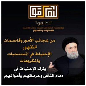 الامين   التسنن و التشيع 16
