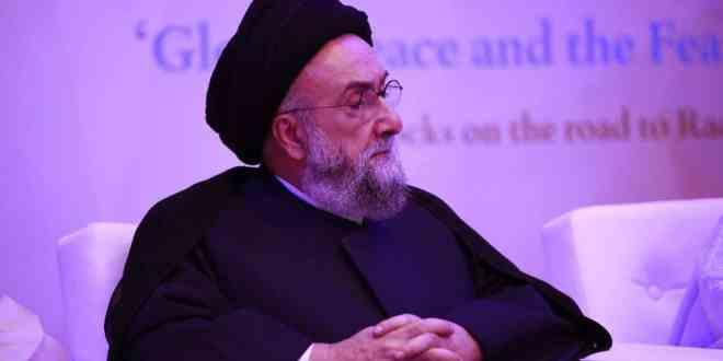 الامين | السلم بين البشر ومقاصد الشريعة الإسلامية- منتدى تعزيز السلم - أبو ظبي 1