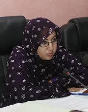 معالي الوزيرة والدكتورة مكفولة بنت آكاط موريتانيا