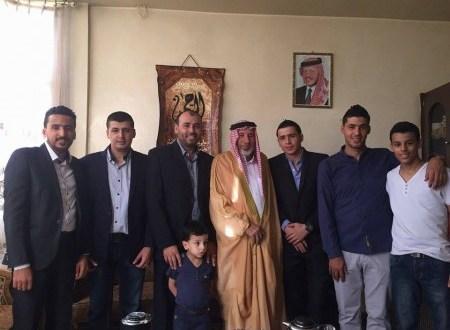 تهنئة ال حمدان القرالة الانصار بمناسبة عيد الاضحى المبارك الاردن