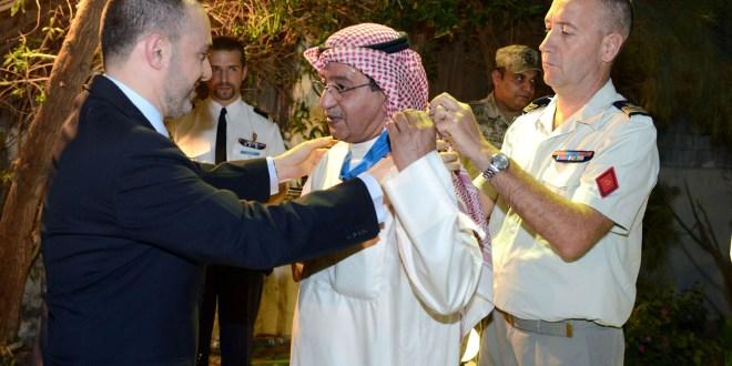 اللواء بحري جاسم الانصاري قائد القوات البحرية بدولة الكويت