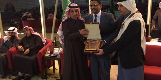 حفل تكريم نقيب أطباء الأسنان الموريتانيين الدكتور محمد المصطفي ولد ابر هيم الأنصاري بالسعودية