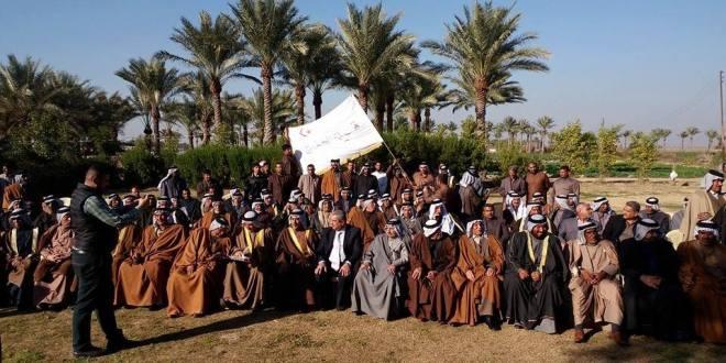 عشيرة ال عبدالله الخزرجية الانصارية تعقد مؤتمرها بالعراق