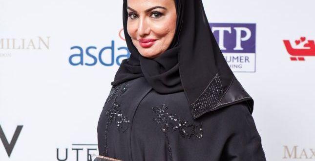 """جائرة المراة العربية """" جائزة المراة الملهمة لسيدة الاعمال القطرية هدى الانصاري """""""