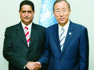 سعادة السفير الدكتور عدنان بن احمد الانصاري المراقب الدائم لدول مجلس التعاون الخليجي بالامم المتحدة ( سلطنة عمان)