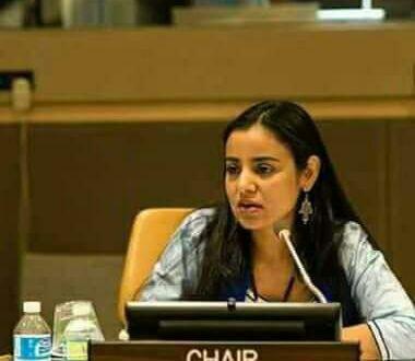 الدكتورة مريم ابوبكرين واليت رئيسة للدورة الحالية للمنتدى العالمي لشعوب الاصلية