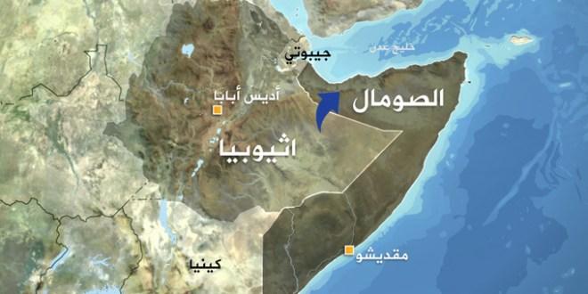 الانصار بدول اثيوبيا والصومال وكينيا ( الصومال الكبير)