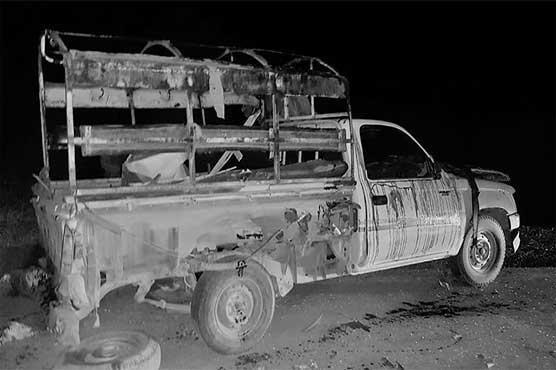 کوئٹہ: ہزار گنجی میں پولیس موبائل کے قریب دھماکہ، 4 اہلکار زخمی