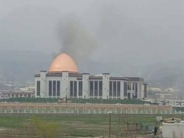 افغانستان: پارلیمنٹ کی عمارت پر راکٹ حملہ