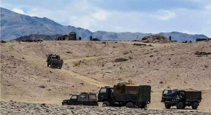 لداخ : چین اور بھارتی افواج کے درمیان ایک بار پھر جھڑپوں