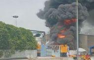 کیماڑی آئل ٹرمینل پرآگ لگنے سے ملک بھر میں پیٹرولیم مصنوعات کی سپلائی معطل