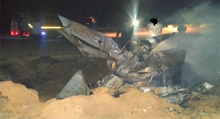 بھارتی ائیر فورس کا مگ 21 طیارہ گر کر تباہ ،  پائلٹ ہلاک