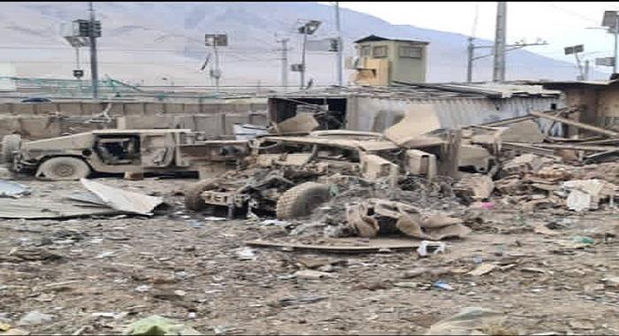 امارت اسلامیہ کے حملے جاری ،فوجی مرکز منہدم، کمانڈروں سمیت 42 ہلاک، 22 سرنڈر