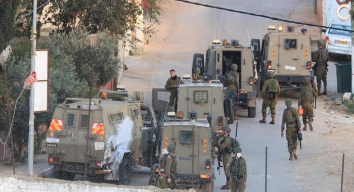 حنین : اسرائیلی فوج اور فلسطینی سکیورٹی اہلکاروں کے درمیان جھڑپ ،تین سکیورٹی اہلکار شہید