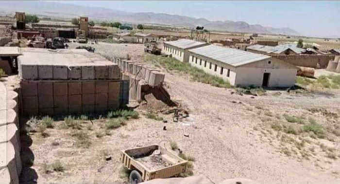ننگرہار : طالبان نے سابقہ امریکی اڈے پر قبضہ کر لیا