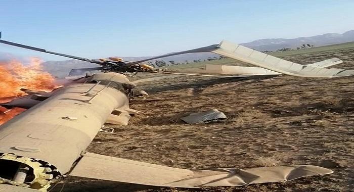 افغانستان صوبہ میدان طالبان نے ایک ہیلی کاپٹر مار گرایا