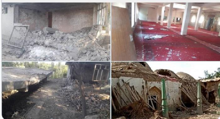 افغان فوجیوں کی غنڈہ گردی جاری ، خواتین بچوں سمیت 20 شہید زخمی