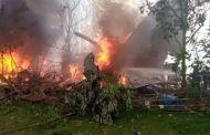 فلپائن : سی 130 طیارہ گر کر تباہ، 17 فوجی ہلاک، 40 زخمی
