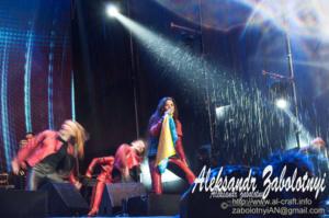 репортажаня фотография с концерта Русланы в Днепре