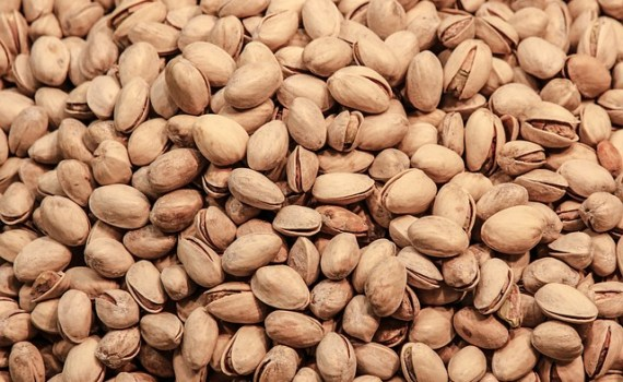 العناصر الغذائية في الفستق الحلبي, السعرات الحرارية - الكربوهيدرات - العناصر الغذائية في الفستق الحلبي