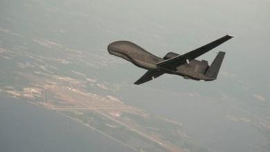 الرئيس الأمريكي يعلن إسقاط طائرة إيرانية مسيرة فوق مضيق هرمز