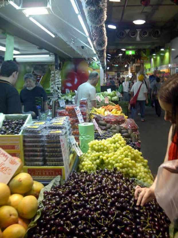 Adelaide Central Market.