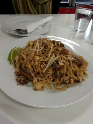 Pad Thai (beef).