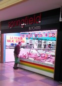 Springfield Butchers (far east side of market close to Coles supemarket).