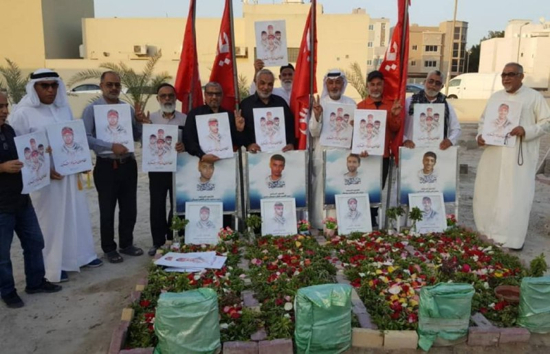 أهالي بلدة كرباباد يتلون ختمة قرآنية على أرواح شهداء الحرية
