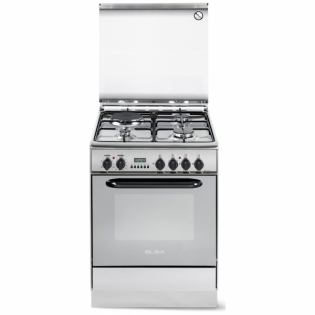 3 gas 1 electric stainless steel elba cooker eb 214 call 0711477775 or 0711114001