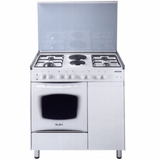 4 gas 2 electric white elba cooker eb 166 call 0711477775 or 0711114001