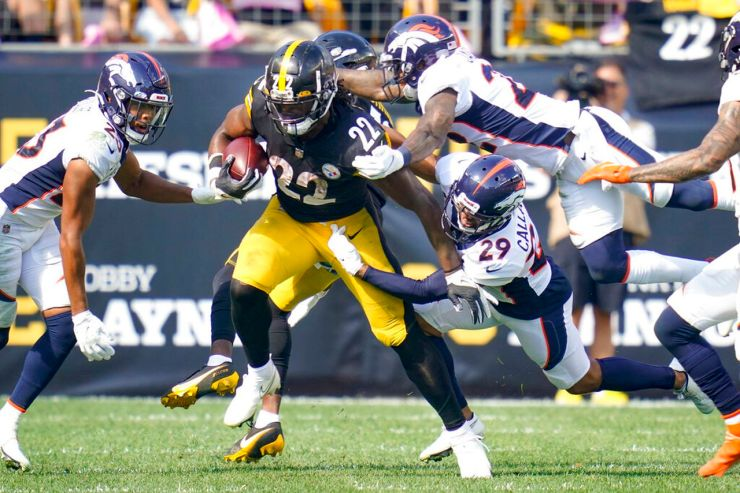 Alabama NFL roundup: Steelers' Najee Harris reaches rushing milestone for  first time - al.com