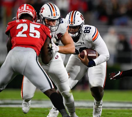 Football: Auburn vs Georgia