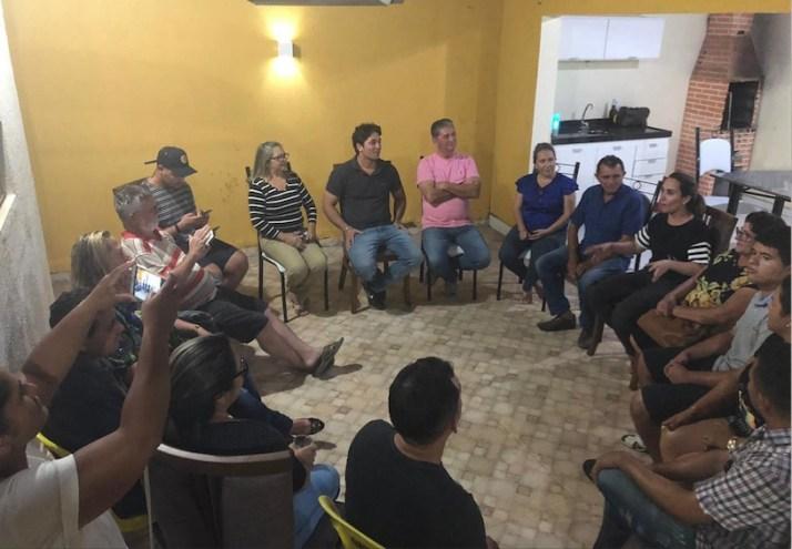 Em Chapadinha, deputada Dra. Thaiza recebe aliados, familiares e lideranças políticas