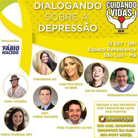 Dia Estadual de Combate à Depressão  será marcado por rodada de debates