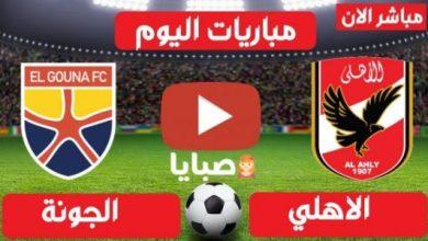 نتيجة مباراة الأهلي والجونة اليوم 8-24-2021 الدور 33 من الدوري المصري