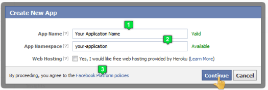create-facebook-application