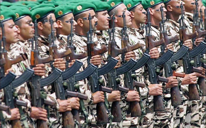 القوات المسلحة الملكية المغربية والقوات الأمريكية تبتدآن الأسد الأفريقي 17