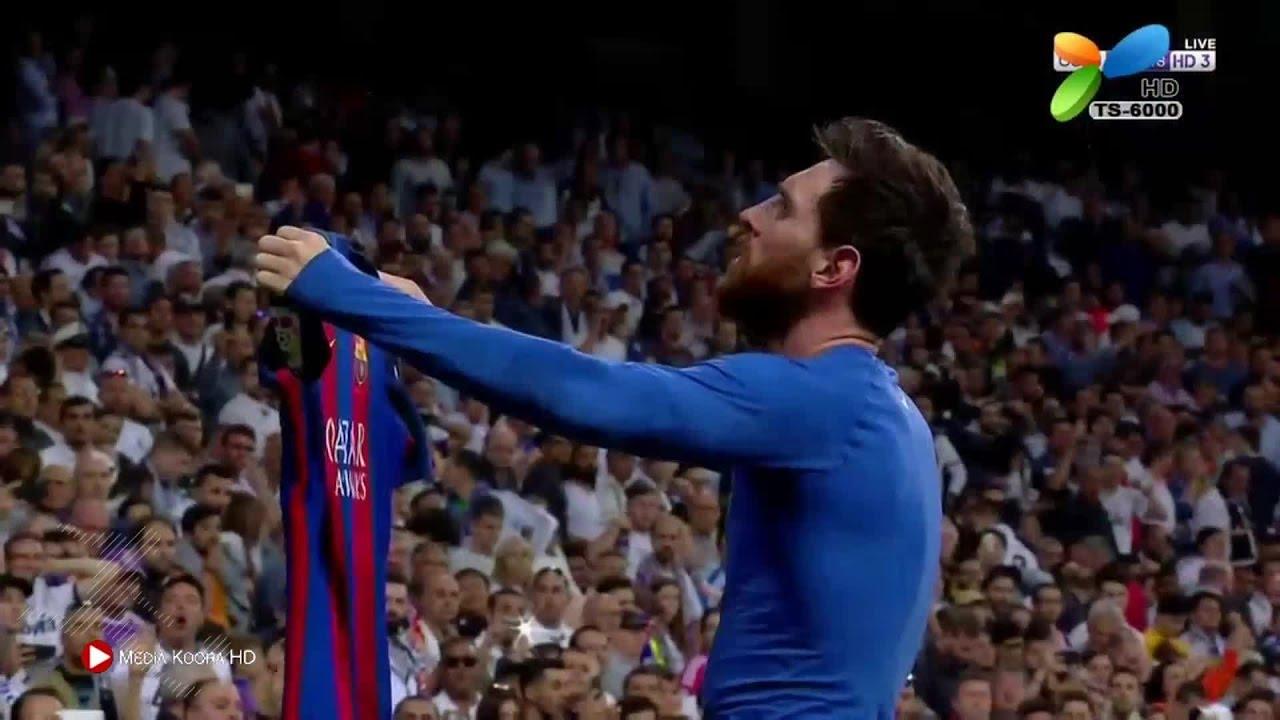 اهداف مباراة برشلونة وريال مدريد 3-2
