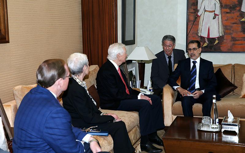 العثماني يتباحث مع رئيس لجنة الكرنغرس الامريكي