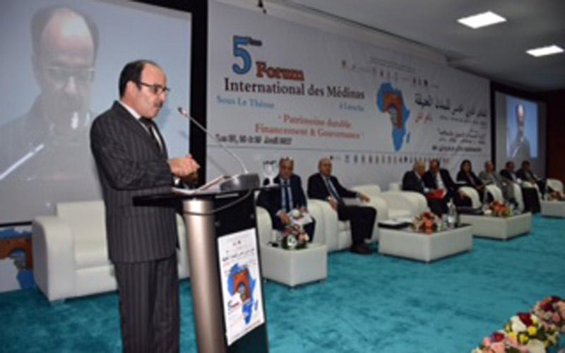 العماري يدعو للحفاظ على الثراث في افتتاح المنتدى الدولي للمدن العتيقة