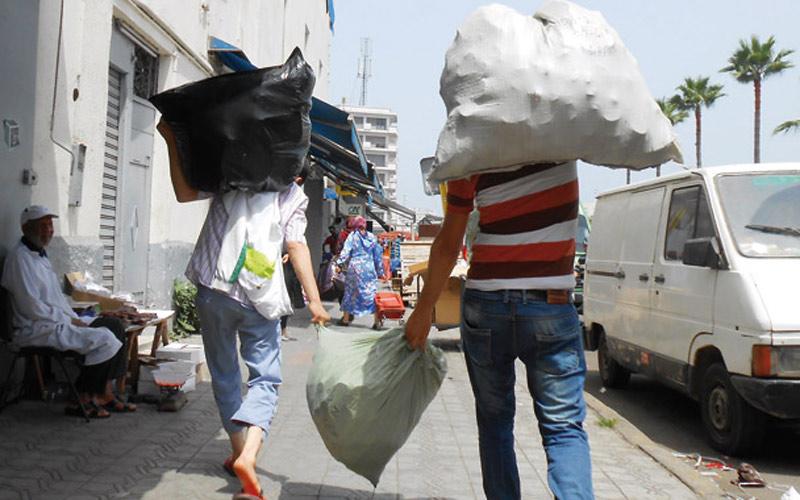 الداخلية: حجز 36 طن من الأكياس البلاستيكية وتوقيف 12 شخصا